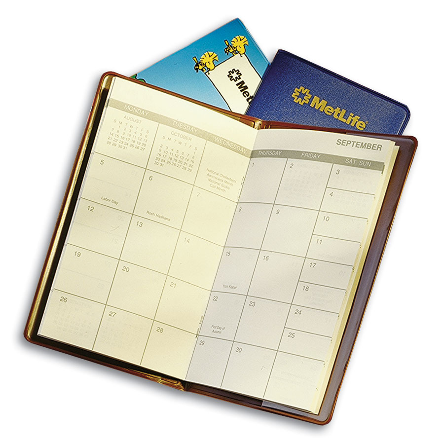 Custom branded calendars for Create custom planner