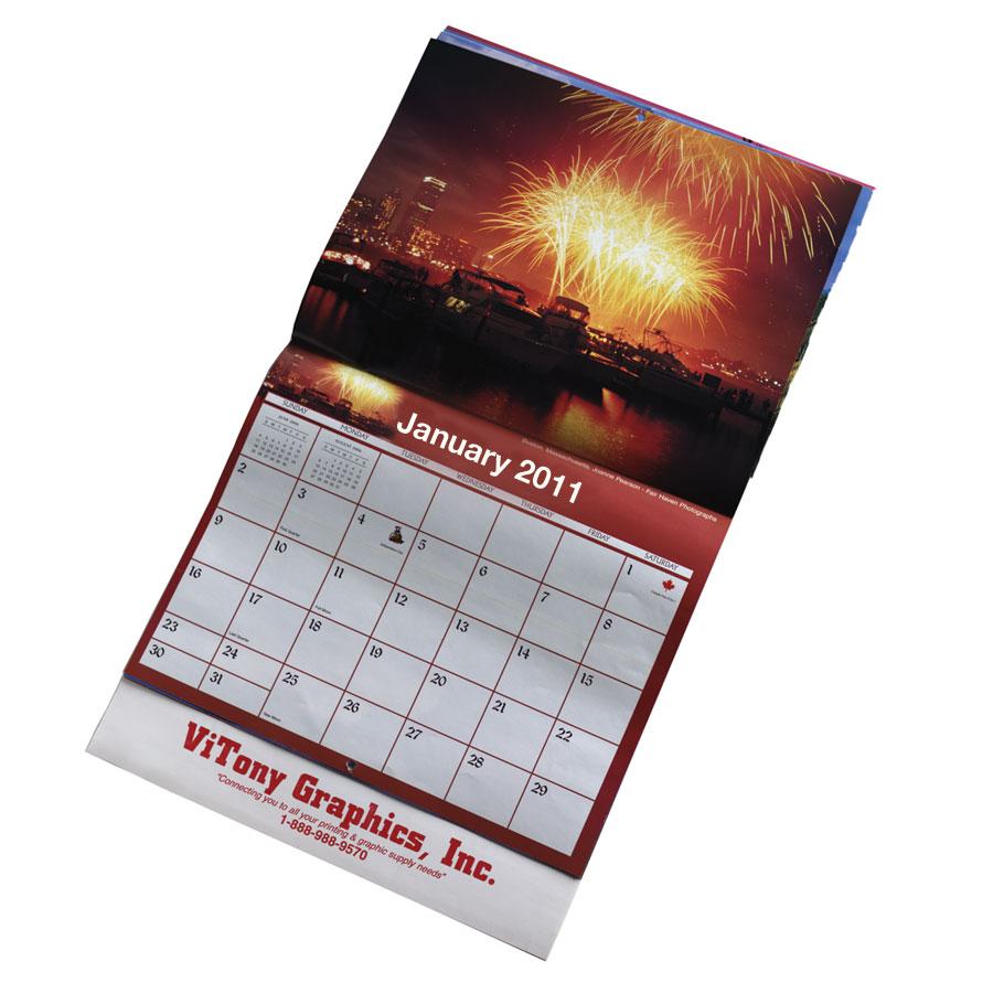 Wall Planner Calendar : Custom branded calendars